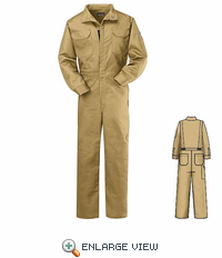 CNB2TN NOMEX® IIIA 4.5oz Tan Deluxe Coverall