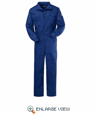 CLB7RBB Women's 9 oz. Royal Blue Deluxe Coverall