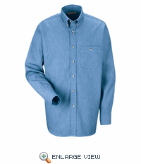 SD74BL Denim Long Sleeve Casual Shirt - Discontinued
