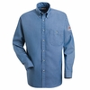 SEG2 Excel-FR™ 7oz.  Button Front Denim Uniform Shirt
