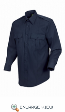 HS1150 Men's Dark Navy Sentry® Plus Long Sleeve Shirt With Zipper