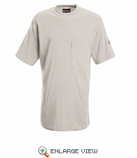 SET8GY Flame-Resistant EXCEL- FR™ Short Sleeve Grey T-Shirt