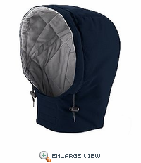 HLH2NV EXCEL- FR™ COMFORTOUCH™ Navy Snap On Insulated Hood