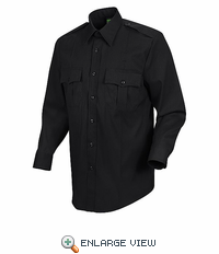 HS1132 Men's Black Long Sleeve Sentry Plus Shirt