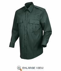 HS1546a Women's Spruce Green Sentry® Plus Long Sleeve Shirt With Zipper