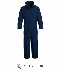 CNN2NV Nomex® IIIA Flame-resisatant Navy  Premium Insulated Coverall