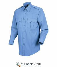 HS1175 Women's Light Blue Deputy Deluxe® Long Sleeve Uniform Shirt