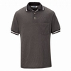 SK08BG Performance Knit Black/Gray Diamond Pattern Shirt