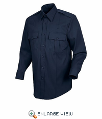 HS1127 Men's Navy Deputy Deluxe® Long Sleeve Uniform Shirt