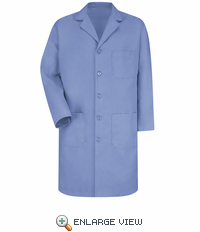 KP14LB Men's Light Blue Red Kap Lab Coat