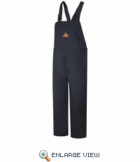 BLF8NV EXCEL- FR™ COMFORTOUCH™ Navy Duck Unlined Bib Overall