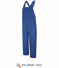 BNF8RB Nomex® IIIA Flame-resistant Royal Blue Unlined Bib Overall