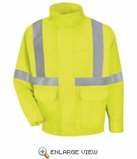 JY38 Hi-Visibility Bomber Jacket Class 2 Level 2