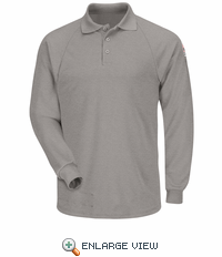 SMP2GY Classic Long Sleeve Grey Polo - CoolTouch� /></a><br /> <!--Solid Cactus Click to enlarge v3.0.2--> <div id=