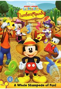 Arabic cartoon dvd MICKEY MOUSE  NUMBERS ROUNDUP proper arabic (fus-ha)