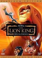 Lion King - Arabic DVD movie cartoon Egyptian dialect with english subtitles awsome dvd must have