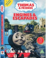 Arabic cartoon dvd THOMAS AND FRIENDS ENGINES & ESCAPADES proper arabic (fus-ha)