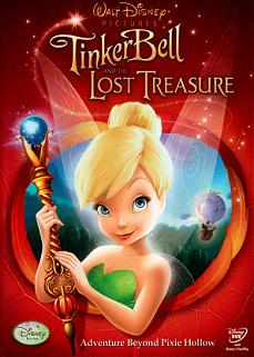 Arabic cartoon dvd  TINKER BELL LOST TREASURE ARABIC-ENGLISH ENGLISH SUBTITLES  egyptian dialect
