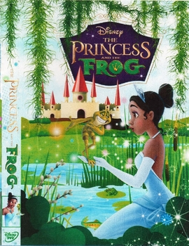 Princess and the Frog - Arabic DVD movie cartoon for kids  Egyptian dialect