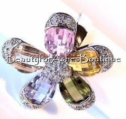 Prayer Garden Cubic Zirconia Ring