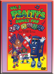 PSALTY SONGS FOR LI'L PRAISERS VOLUME 3 DVD