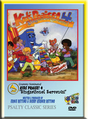 KIDS PRAISE 4 DVD - Singsational Servants