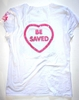 BAMBOO BIODEGRADABLE CHOOSE JESUS BE SAVED T SHIRT