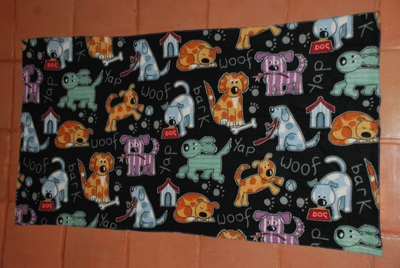 Lali's Fleece Dog Blankets