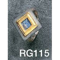 Roman glass square ring