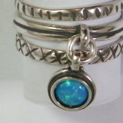 Silver jewelry | Silver ring | Opal ring