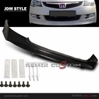 06-08 Honda Civic 4DR Sedan MUG Style Front Bumper Lip Body Kit (PU)