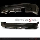 06-08 Civic 4DR Sedan  MUG Style Rear Bumper Lip Body Kit (PU)