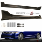 06-08 Civic 4DR Sedan MUG Style Side Skirts Body Kit (PU)