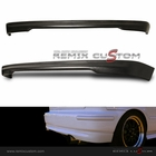 96-00 Honda Civic Hatchback EK TR Style Rear Bumper Lip Body Kit (PU)