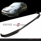 99-00 Honda Civic Type R Carbon Front Bumper Lip Spoiler