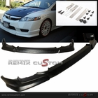 09-11 Honda Civic 4DR Sedan PU Front Bumper Lip Spoiler