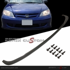 04-05 Honda Civic 2/4DR Front Bumper Lip Spoiler PU Body Kit