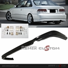 99-00 Honda Civic 2/4DR CTR Style PU Rear Body Bumper Lip Kit