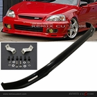 99-00 Honda Civic MUG Style PU Front Body Bumper Lip Spoiler Kit