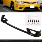 06-08 Honda Civic 2DR Coupe HFP PU Front Bumper Lip Spoiler Kit