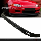 92-95 Honda Civic 4DR Sedan MUG Style PP Front Bumper Lip Spoiler Kit