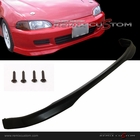 92-95 Honda Civic 4DR Sedan Type R Style PP Front Bumper Lip Spoiler Kit