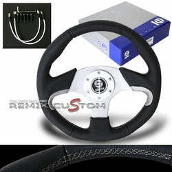 SPACO Steering Wheel -330mm (NAXOS) Black