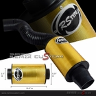 Universal Air Filter Box Tube Kit 150mm -Yellow