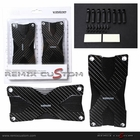 VISION A/T Universal Polish Real Carbon Racing Pedals Set (2pcs)