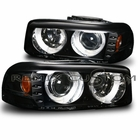 00-06 GMC Denali / Sierra / Yukon Dual Halo LED Projector Headlights