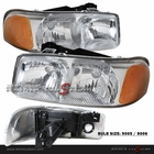 00-06 GMC Yukon / 99-06 Sierra Clear Headlights