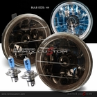 "Univeral 5"" Round LED Halo Replacement Headlights - Smoke"
