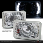 Universal 4x6 SMDx16 LED Projector Headlights