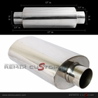 Universal Resonator Type No Tip Muffler